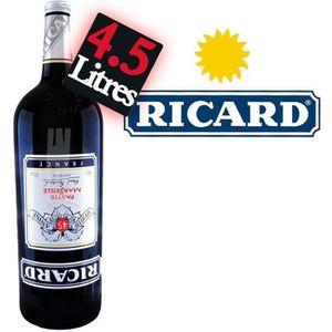 Apéritif anisé Ricard Bouteille 4L5 45° Gallon