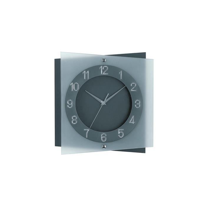 horloge murale moderne avec mouvement quartz de ams am. Black Bedroom Furniture Sets. Home Design Ideas