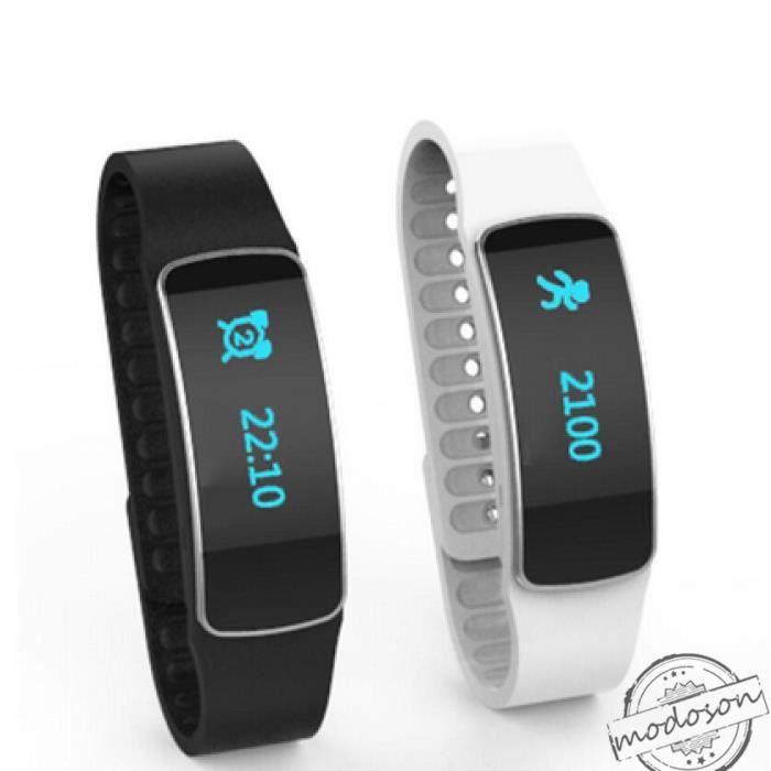 bracelet connect t2 fitness iphone 4s blanche achat vente montre connect e bracelet. Black Bedroom Furniture Sets. Home Design Ideas