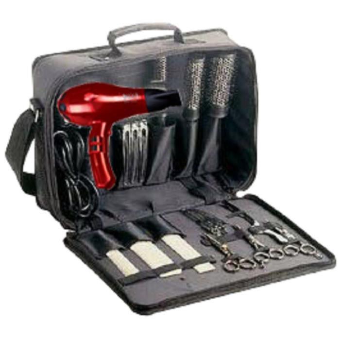 kit malette coiffure coiffeur ecole salon cheveux peigne. Black Bedroom Furniture Sets. Home Design Ideas