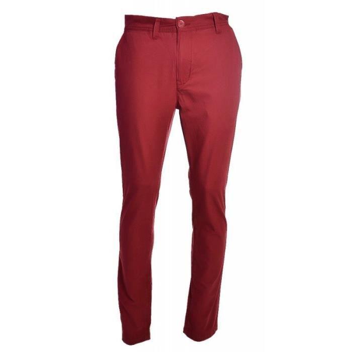 pantalon chino jack rouge bordea rouge achat vente pantalon cdiscount. Black Bedroom Furniture Sets. Home Design Ideas