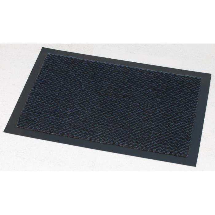 tapis eden bleu 80x120cm achat vente tapis d 39 entr e soldes cdiscount. Black Bedroom Furniture Sets. Home Design Ideas