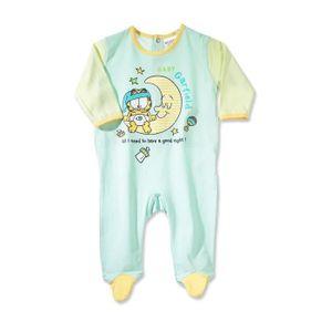 CHEMISE DE NUIT Pyjama dors bien grenouillère Garfield