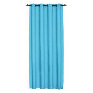 double rideaux bleu turquoise achat vente double. Black Bedroom Furniture Sets. Home Design Ideas