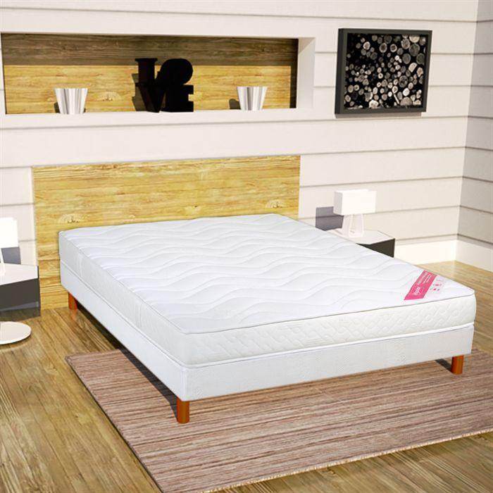 relaxima matelas 160x200cm mousse haute r silience achat vente matelas soldes cdiscount. Black Bedroom Furniture Sets. Home Design Ideas