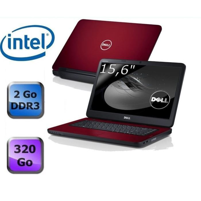 dell inspiron n5050 red prix pas cher cdiscount. Black Bedroom Furniture Sets. Home Design Ideas