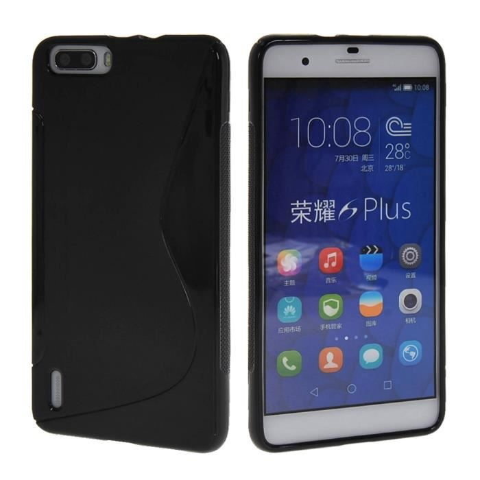 Mooncase gel tpu silicone housse coque etui case cover for Housse honor 6x
