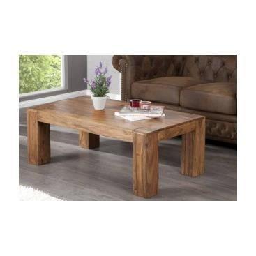 Table basse en bois ludovica achat vente table basse - Salon de sejour en bois ...