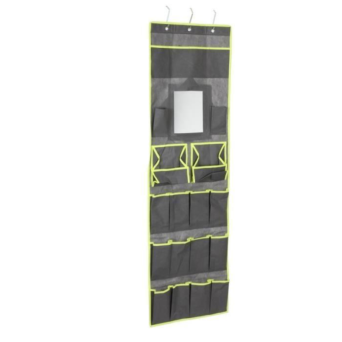 rangement accessoires suspendu gris organis achat vente porte accessoire rangement. Black Bedroom Furniture Sets. Home Design Ideas