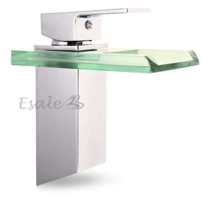 robinet mitigeur cascade pour lavabo cuisine salle de bains evier baignoire achat vente. Black Bedroom Furniture Sets. Home Design Ideas