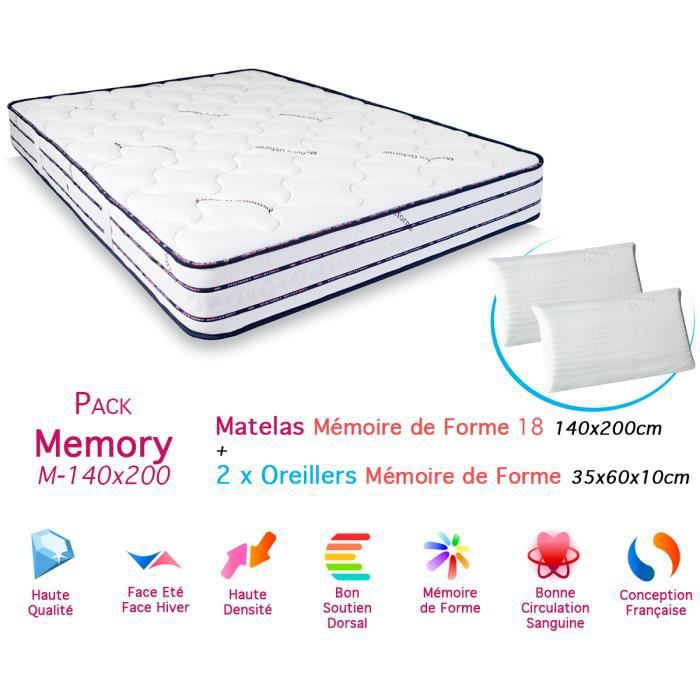densite matelas mousse memoire