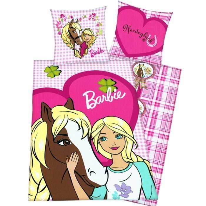 Housse de couette barbie et son cheval achat vente - Housse de couette barbie ...