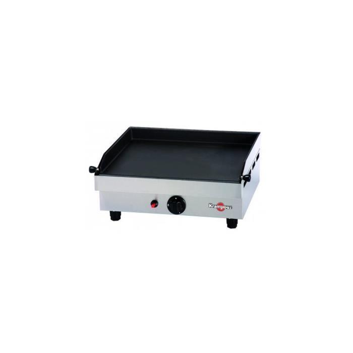 Plancha a gaz 480x400mm bruleur 3kw 554x470x231mm achat - Plancha gaz cdiscount ...