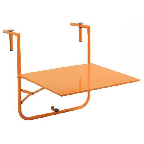 Table De Balcon Pour Balcon 60 X 53cm Achat Vente