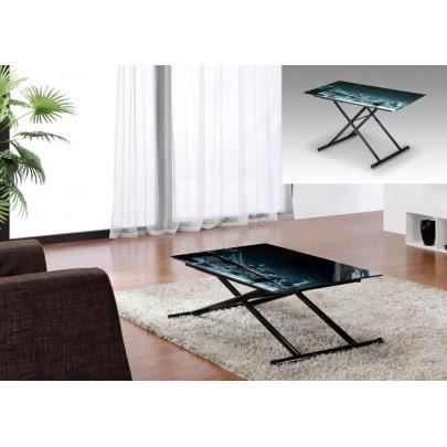 table r glable up down midnight 4 couverts v achat vente table basse table r glable up. Black Bedroom Furniture Sets. Home Design Ideas