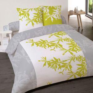 housse de couette bambou achat vente housse de couette bambou pas cher soldes cdiscount. Black Bedroom Furniture Sets. Home Design Ideas