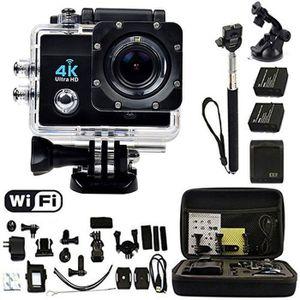 CAMÉRA SPORT Ultra 4K HD 16MP Wifi Sports Action Caméra Voiture