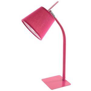LAMPE A POSER Paris Prix - Lampe Métal avec Pied 50cm Rose