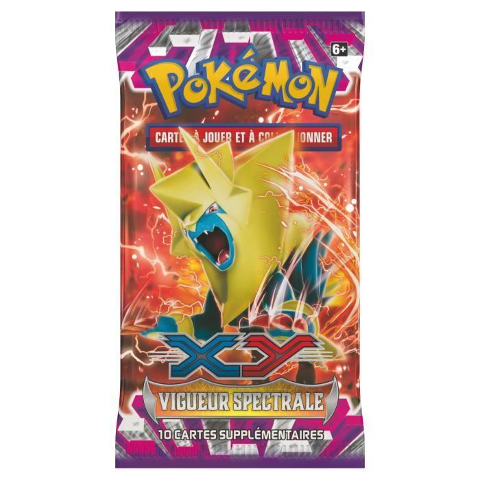 Pokemon booster xy4 vigueur spectrale m ga lecsprint - Mega elecsprint ...