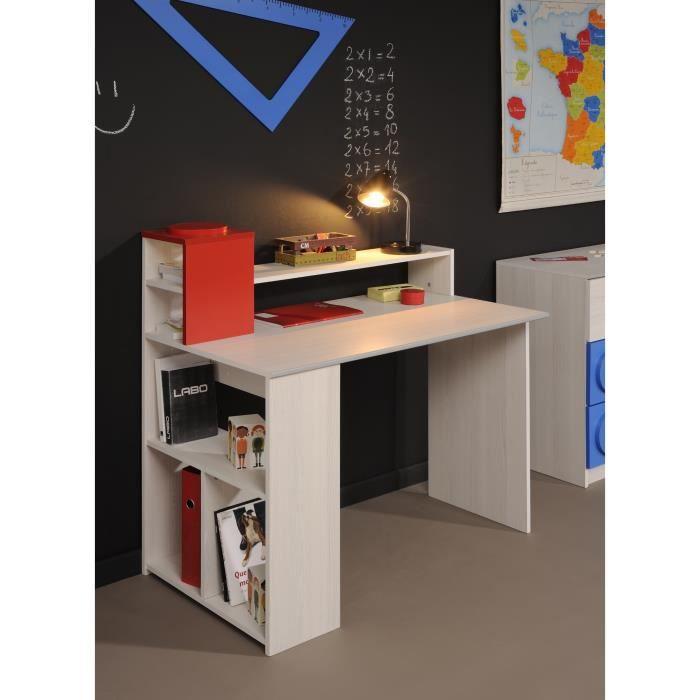 Bureau enfant contemporain coloris fr ne fabrick achat for Petit bureau contemporain