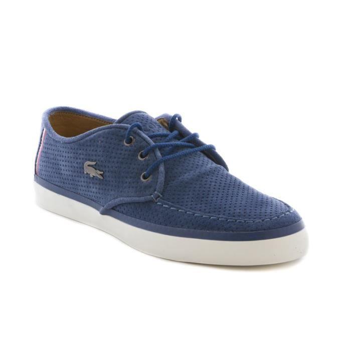 Chaussure lacoste sevrin 6 en daim bleu achat vente - Laver chaussure en daim ...