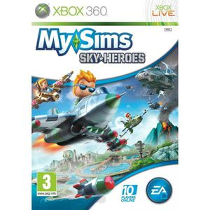 JEUX XBOX 360 My Sims Skyheroes Jeu XBOX 360