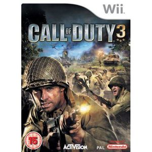 JEUX WII Call of Duty 3 Wii [import anglais]
