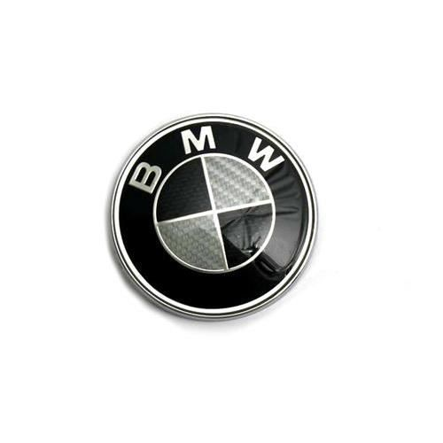 logo badge embl me bmw 82mm capot coffre noir blanc. Black Bedroom Furniture Sets. Home Design Ideas