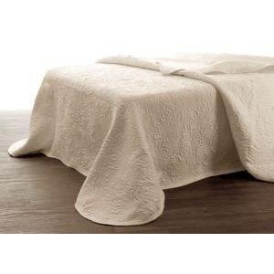 Couvre lit decoratif facon boutis 220x260 cm am achat vente jet e de lit - Couvre lit polyester ...