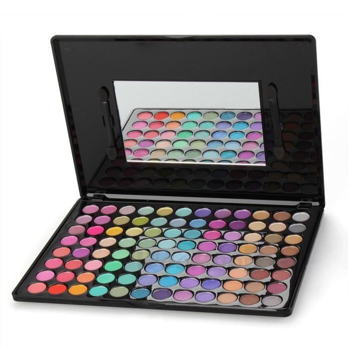 palette fard ombre paupi res yeux 96 couleurs achat vente palette de maquillage palette. Black Bedroom Furniture Sets. Home Design Ideas