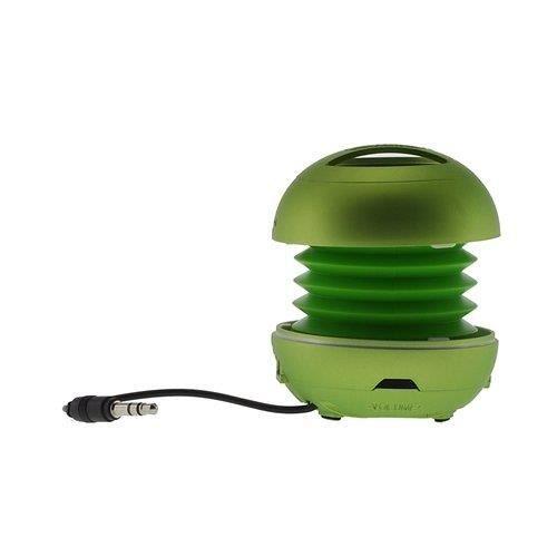 enceinte filaire portable ronde super bass vert. Black Bedroom Furniture Sets. Home Design Ideas