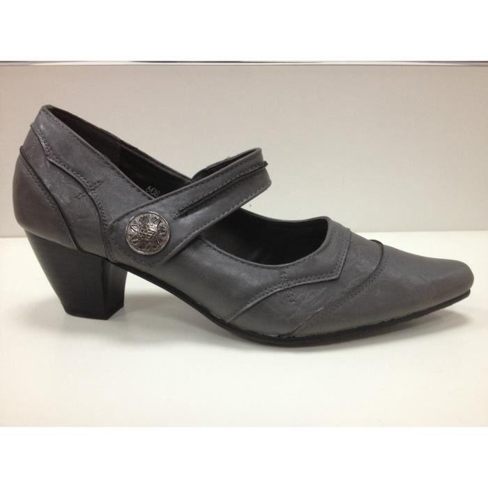 Chaussure Femme Talon Carre