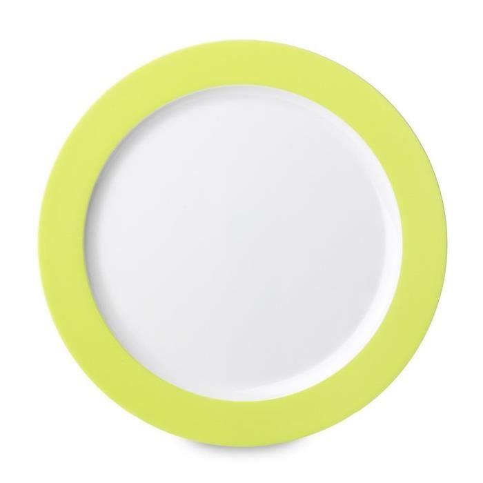 assiettes plates melamine achat vente assiettes plates melamine pas cher cdiscount. Black Bedroom Furniture Sets. Home Design Ideas