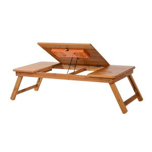 Table pour ordinateur portable en bambou neuf 03