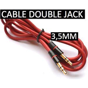CÂBLE TÉLÉPHONE CABLE AUDIO STEREO JACK Male/Male 3,5 CORDON 1,1m
