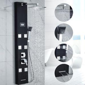 colonne de douche blanc achat vente colonne de douche. Black Bedroom Furniture Sets. Home Design Ideas