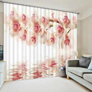 rideau orchidee achat vente rideau orchidee pas cher soldes d hiver d s le 11 janvier. Black Bedroom Furniture Sets. Home Design Ideas