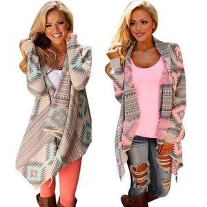 GILET - CARDIGAN  Outwear Coat Jacket Femmes élégantes manches l...