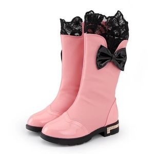 BOTTE Mode Fille Souple Chaussures Bottes de Neige .