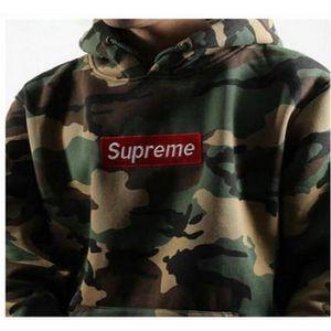 2016 supreme sweatshirt pull over oversize capuche homme. Black Bedroom Furniture Sets. Home Design Ideas