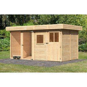 enclos exterieur avec toit achat vente enclos exterieur avec toit pas cher cdiscount. Black Bedroom Furniture Sets. Home Design Ideas