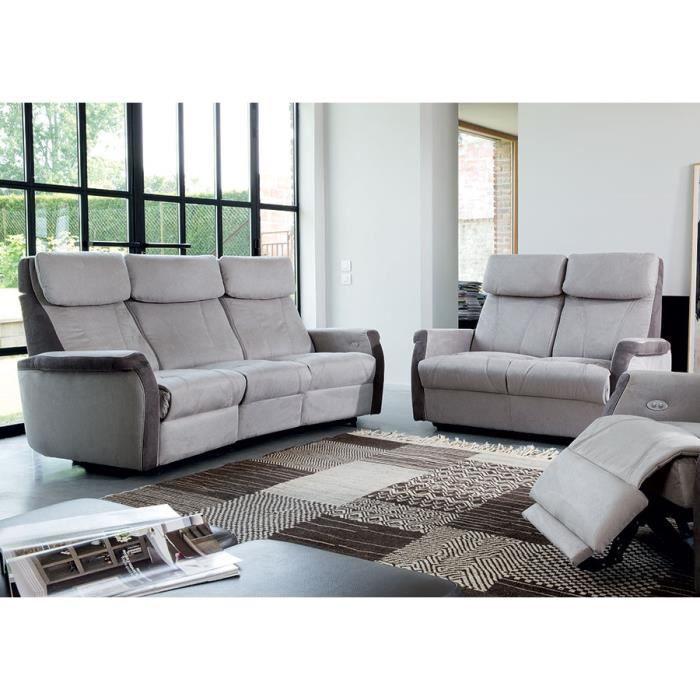 ensemble canap de relaxation manuel 3 2 places floyd 2. Black Bedroom Furniture Sets. Home Design Ideas