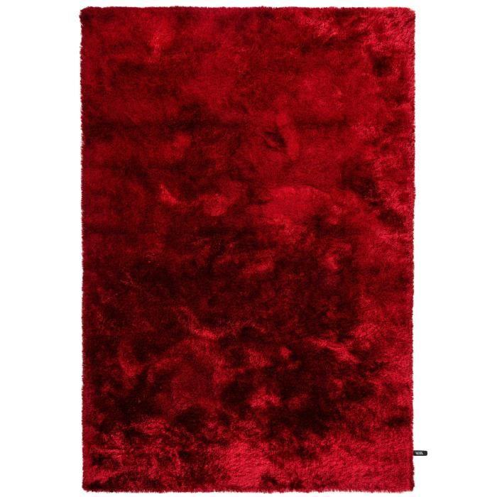 benuta tapis poils longs whisper rouge 240x34 achat. Black Bedroom Furniture Sets. Home Design Ideas