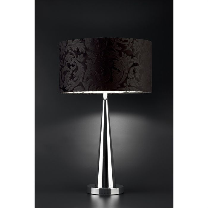 faro lampe poser soft noire achat vente faro lampe soft noire chrome cdiscount. Black Bedroom Furniture Sets. Home Design Ideas
