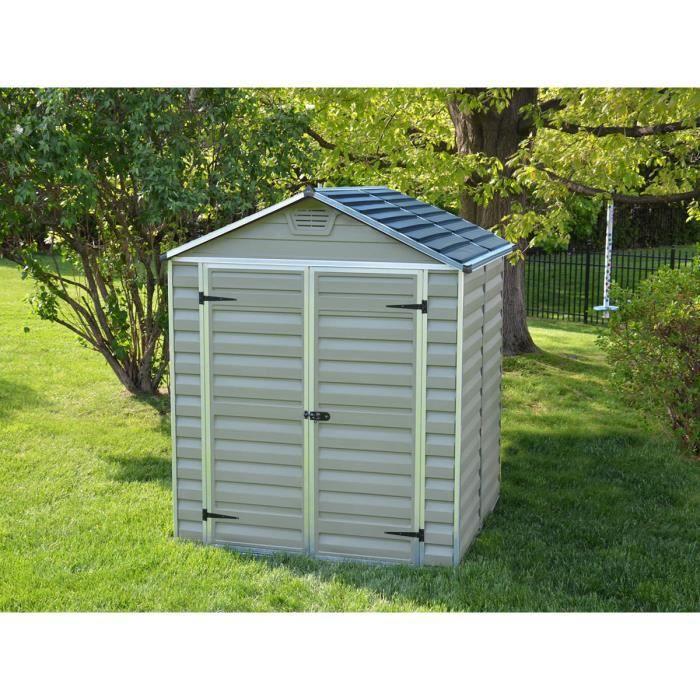 abri de jardin polycarbonate toit translucide achat vente abri jardin chalet abri de. Black Bedroom Furniture Sets. Home Design Ideas
