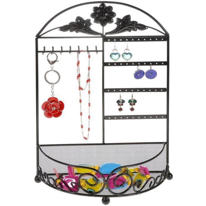 grand pr sentoir pour bijoux m noir achat vente pr sentoir bijoux grand pr sentoir pour. Black Bedroom Furniture Sets. Home Design Ideas