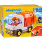 UNIVERS MINIATURE PLAYMOBIL 1.2.3. 6774 Camion Poubelle