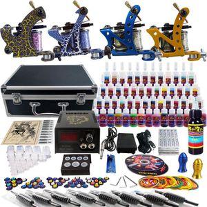 KIT TATOUAGE Kit complet - Tatouage 4 machines/ 54 encres (PRO)