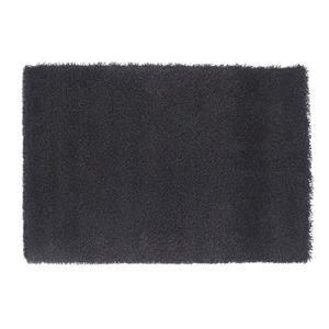 Tapis poil noir achat vente tapis poil noir pas cher for Tapis noir poil long pas cher