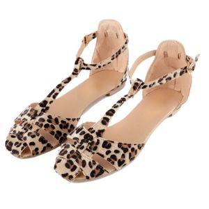 sandale leopard achat vente pas cher cdiscount. Black Bedroom Furniture Sets. Home Design Ideas